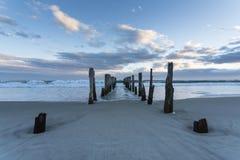 St Clair Beach, NZ Fotografía de archivo libre de regalías