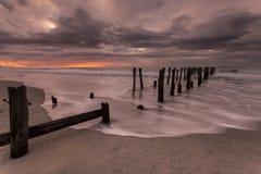 St Clair Beach, NZ Stock Images