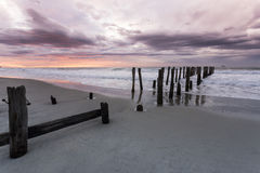St Clair Beach, NZ Stock Images