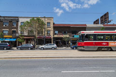 St Clair West Toronto Royalty Free Stock Photography