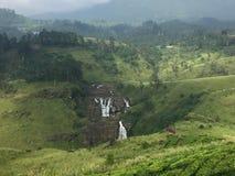 St Clare's Waterval Sri Lanka royalty-vrije stock fotografie