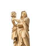 St Clare d'Assisi - saints Vatican de colonnade Photos libres de droits