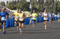 31st classic Athens marathon Royalty Free Stock Photography