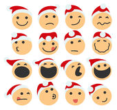 St Claus Icons vector illustration