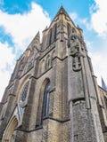 St Clemens kościół z zabytkiem Świątobliwy Łagodny Rzym przy Solingen, Niemcy Zdjęcia Stock