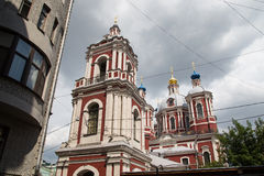 St Clement Church in Moscow, Russia Stock Images