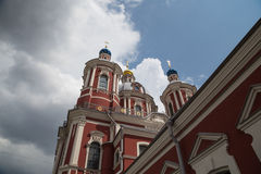 St Clement Church in Moscow, Russia Royalty Free Stock Images