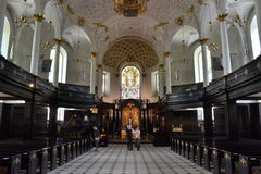 St . Clement Danes Church London Stock Images
