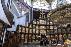 St Clement de la iglesia de Ohrid o de Kliment Ohridski en Skopje Imagen de archivo libre de regalías