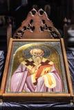St Clement de la iglesia de Ohrid o de Kliment Ohridski en Skopje Imagenes de archivo