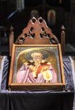 St Clement de la iglesia de Ohrid o de Kliment Ohridski en Skopje Foto de archivo libre de regalías