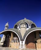 St. Clement of Ohrid or Kliment Ohridski Church in Skopje. Exterior view of St. Clement of Ohrid or Kliment Ohridski Church in Skopje, Macedonia Stock Photography