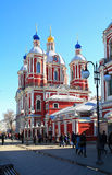 St Clement's Church. Moscow, Russia. Royalty Free Stock Images