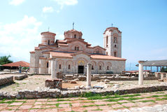 St  Clement s Church - St  Panteleimon, Ohrid, Mac. Church - St  Panteleimon is fondated by St. Clement and is restored in recent times Royalty Free Stock Photos