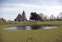 St Clements Church Old Romney. Royalty Free Stock Photography