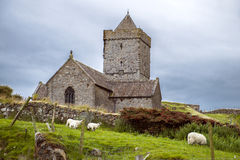 St Clements Church, Rodel photo stock