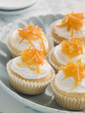 St Clements Cup Cakes stock photos
