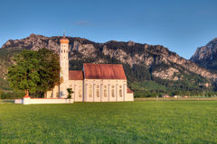St. Coleman's Church in Bavaria. Germany Royalty Free Stock Image