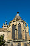 St collégial Martin Church, Colmar, Alsace, France Image stock