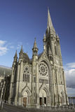 St. Colman's Cathedral. St. Colman's neo-Gothic cathedral, Cobh, South Ireland. The architecture of E. W. Pugin and George Ashlin Stock Images
