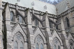 St Colman`s Cathedral, Cobh Ireland. A side view of St Colman`s Cathedral, Cobh Ireland Stock Image