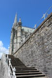 St Colman`s Cathedral, Cobh Ireland. Steps leading to St Colman`s Cathedral, Cobh Ireland Stock Photos