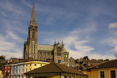 St. Colman's neo-Gothic cathedral in Cobh, South Ireland Stock Photo