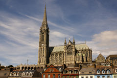 St. Colman's neo-Gothic cathedral in Cobh, South Ireland. Europa Royalty Free Stock Photo