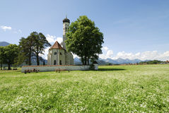 St. Coloman church Royalty Free Stock Photo