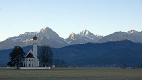 St. Coloman church in Schwangau. Saint Coloman church in Schwangau near Füssen in southwest Bavaria, Germany Stock Photography