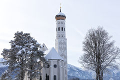 St Coloman near Schwangau, Germany Stock Images