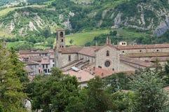 St. Colombano Abbey. Bobbio. Emilia-Romagna. Italy Royalty Free Stock Image