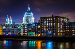 St Colourful Pauls Immagine Stock