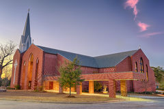 St. Columba Catholic Church, Dothan, Alabama Royalty Free Stock Images