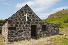 St. Columbas, Chapel, Canna Stock Image