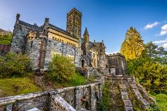 St Conans Kirk situado no incrédulo do Loch, Escócia imagem de stock royalty free