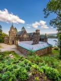 St Conans kościół lokalizować na bankach Loch respekt, Szkocja obrazy stock