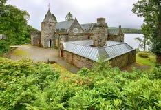 St Conans Loch Kościelny pobliski respekt Szkocja zdjęcie royalty free
