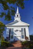 1st Congregational Church Chatham Cape Cod. First  Congregational Church Chatham Cape Cod established 1720 Royalty Free Stock Photos