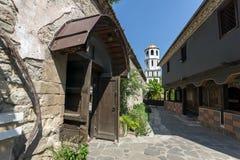 St Constantine i St Elena kościół od okresu Bułgarski odrodzenie w starym miasteczku Plovdiv obraz stock