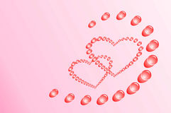 St. Coração do Valentim Foto de Stock Royalty Free