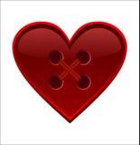 St. Coração do Valentim Imagens de Stock Royalty Free