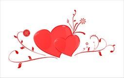 St. Corações do Valentim Fotografia de Stock