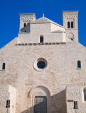St. Corrado Cathedral in Molfetta. Apulia. Royalty Free Stock Image
