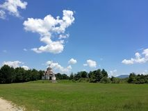 St Costantina ed Elena, Vratnica, Macedonia della chiesa Immagine Stock Libera da Diritti