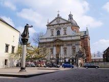 st cracow Паыля peter Польши церков Стоковое Фото