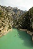 St Croix, France de Gorges de Verdon Lac Photographie stock libre de droits