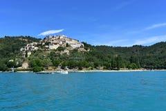 St Croix jeziora widok obrazy stock