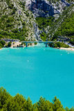 St Croix Lake. Les Gorges du Verdon, Provence, France Stock Image