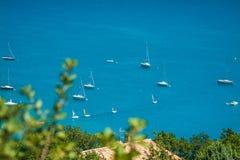 St Croix Lake, Les Gorges du Verdon, Provenza, Francia Fotografia Stock